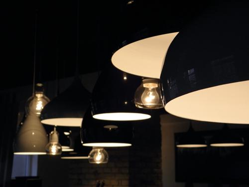 BH1,2 & Bulbs in a restaurant