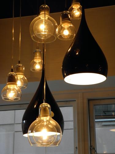 BH1 & Bulbs in a restaurant