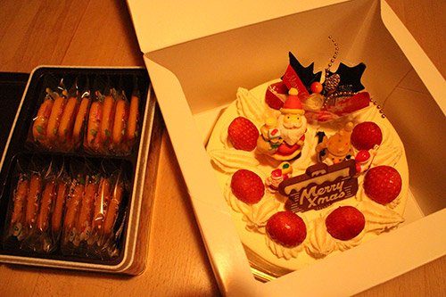 Christmas sweets in Japan