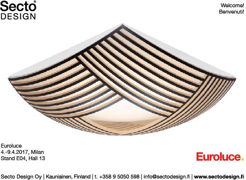 Euroluce 2017 - Secto Design